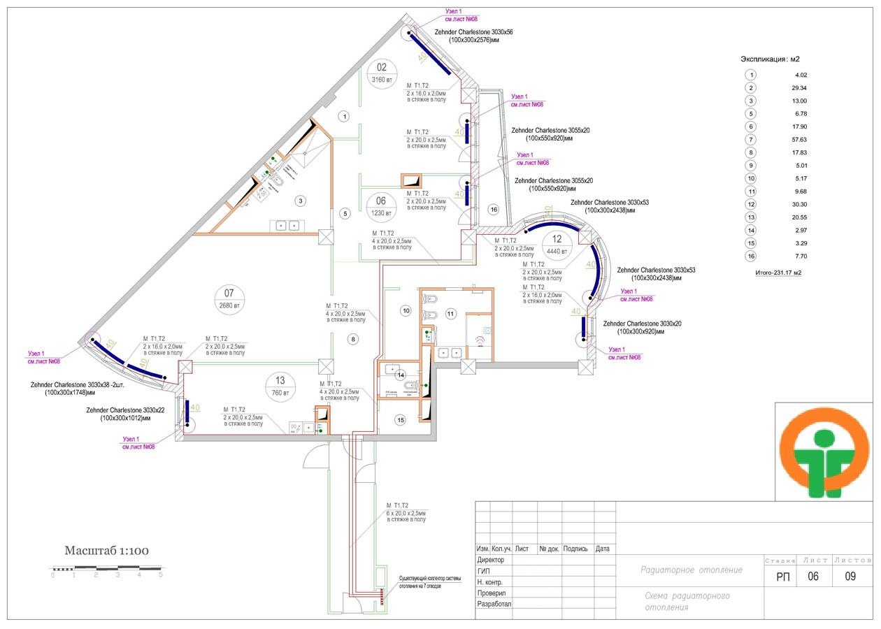 Схема канализации в одноэтажном частном доме