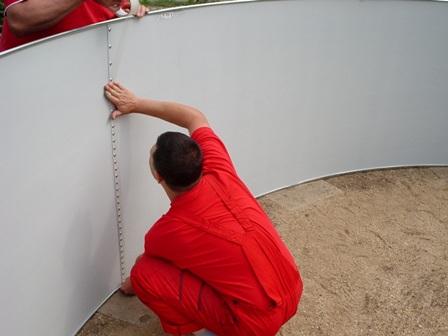 Монтаж оборудования для бассейнов и установка каркасной чаши