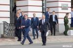 Владимир Путин осмотрел Тульское Суворовское военное училище