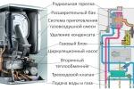 Принцип работы газового котла отопления