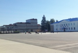 Ремонт площади Ленина в посёлке Заокском завершён